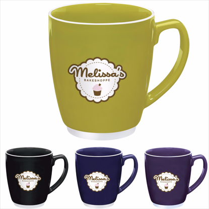 Picture of Large Color Bistro with Accent Mug - 20 oz.