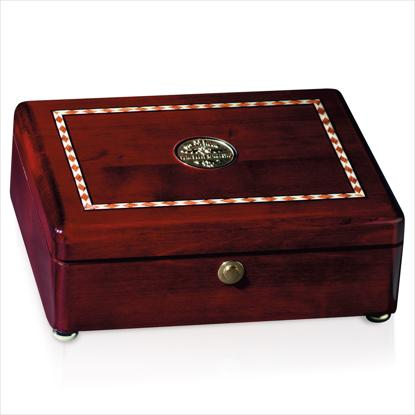 Picture of Rosewood Inlaid Rectangular Box