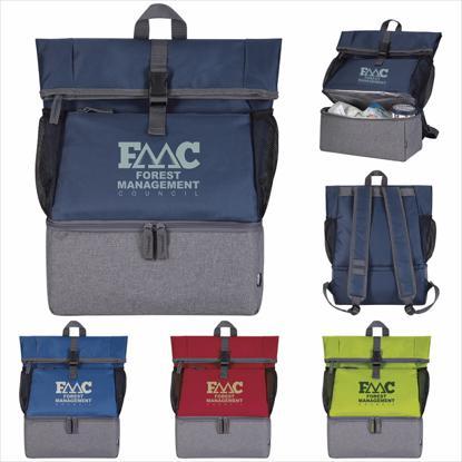 Picture of Koozie® Breaktime Kooler Backpack