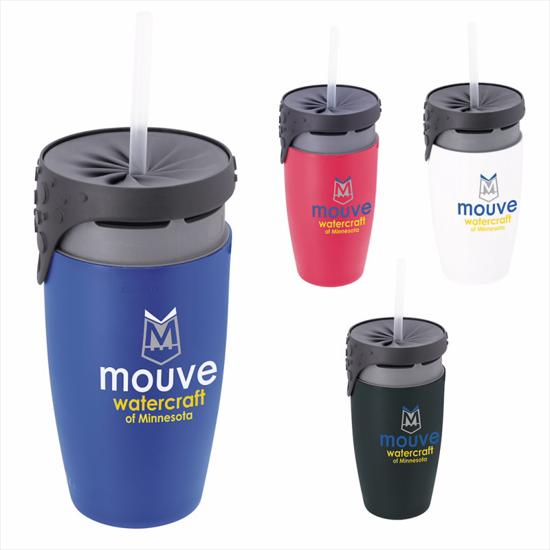 Picture of neolid™ TWIZZ Double Wall Tumbler–12 oz.