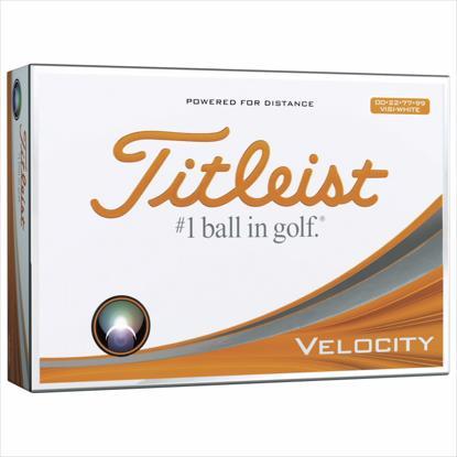Picture of Titleist® Velocity® Visi-White Std Serv