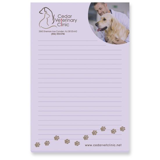 "Picture of BIC® 4"" x 6"" Adhesive Notepad, 25 Sheet Pad"