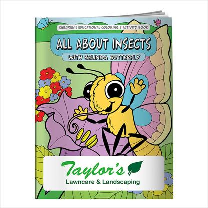 Picture of Coloring Book: All About Insects
