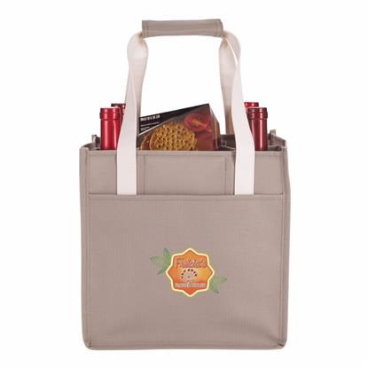 Picture of 4-Bottle Wine Tote