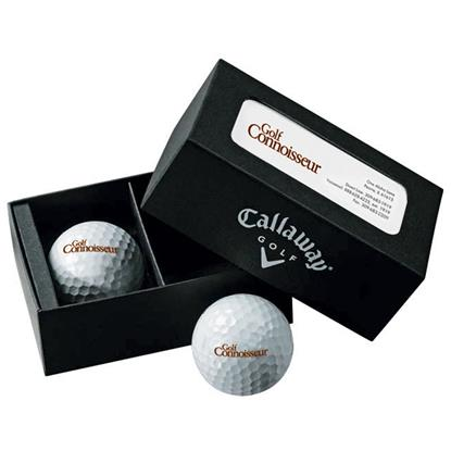 Picture of Callaway® 2-Ball Business Card Box – Warbird™