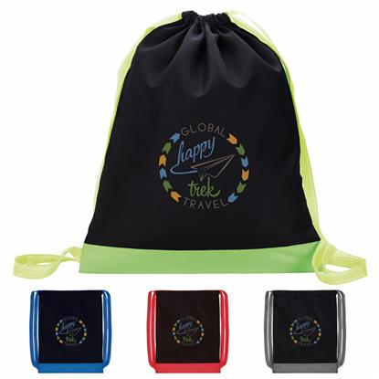 Picture of Color Flip Drawstring Backpack