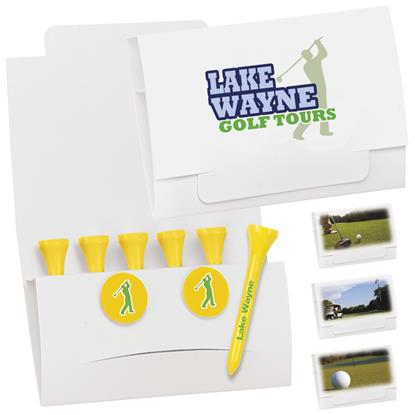 "Picture of 6-2 Golf Tee Packet - 3-1/4"" Tee"