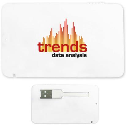 Picture of 1 GB Full-Color Credit Card USB 2.0 Flash Drive