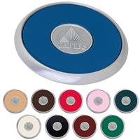 Picture of Round Brushed Zinc Coaster