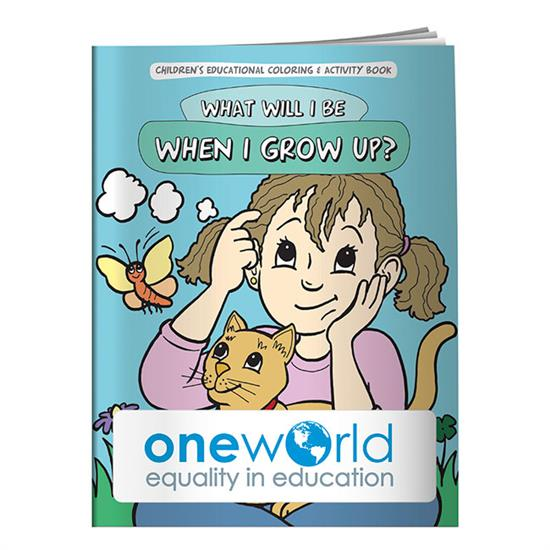 Picture of Coloring Book: What Will I Be When I Grow Up?