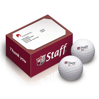 Picture of Wilson® 2-Ball Thank You Box