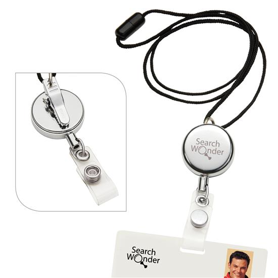 Picture of Dual Function Metal Badge Holder