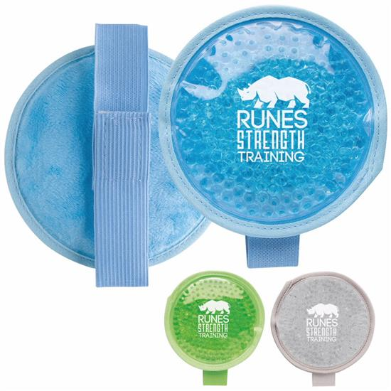 Picture of Plush Round Hot Cold Pack