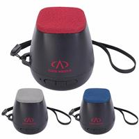 Picture of Xoopar® Bluetooth® Speaker with Fabric Top and Leash