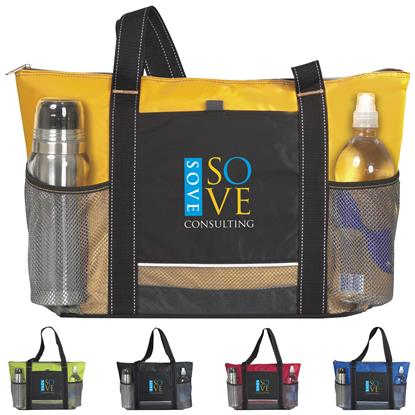 Picture of Icy Bright Cooler Tote