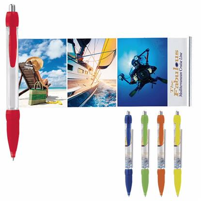 Picture of Translucent Colored Banner Pen