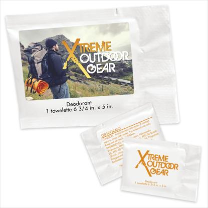 Picture of Deodorant Towelette Packet