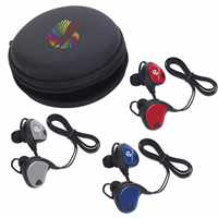 Picture of Xoopar® Bluetooth® Earbuds with Logo Cap