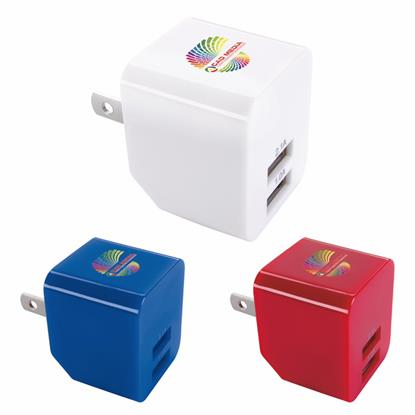 Picture of 2 Port 2.1A Wall Adapter