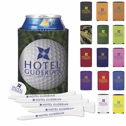 Picture of Koozie® Collapsible Golf Tee Kit