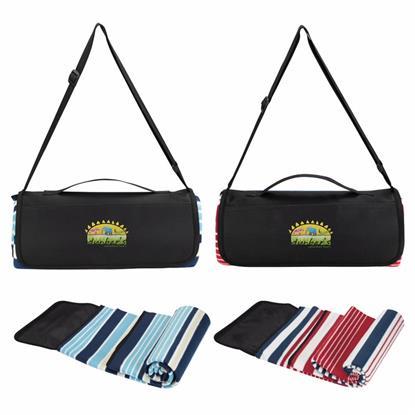 Picture of Shoulder Strap Picnic Blanket