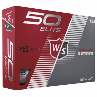 Picture of Wilson® 50 Elite Golf Ball Std Serv