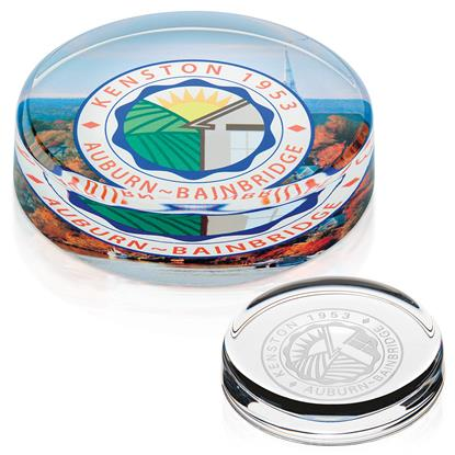 Picture of Round Paperweight