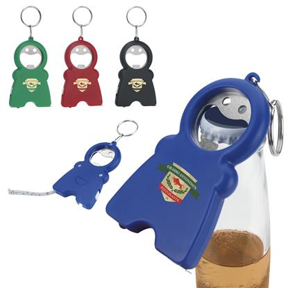 Picture of Happy Tri-Function Keychain