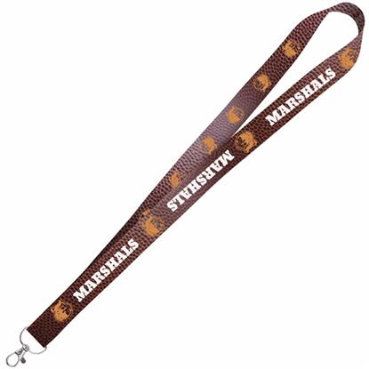 "Picture of 1"" Satin 4 Color Lanyard"