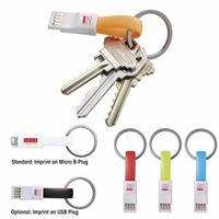 Picture of 2-in-1 Keychain USB Charging Cable