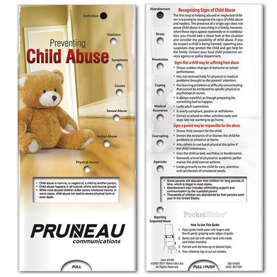Picture of Pocket Slider: Preventing Child Abuse