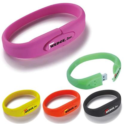 Picture of 16 GB Wrist Band USB 2.0 Flash Drive