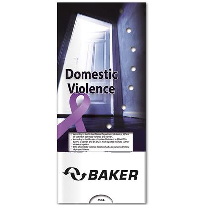 Picture of Pocket Slider: Domestic Violence