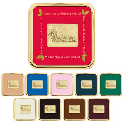 Picture of Brass Square Coaster