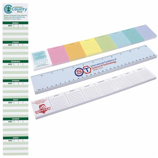 """Picture of BIC®  12"""" x 2"""" Adhesive Notepad, 25 Sheet Pad"""