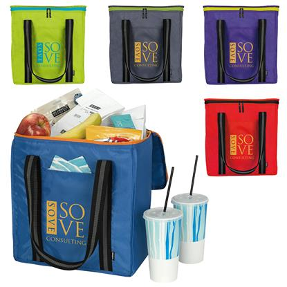 Picture of Koozie® Block Grocery Tote Kooler
