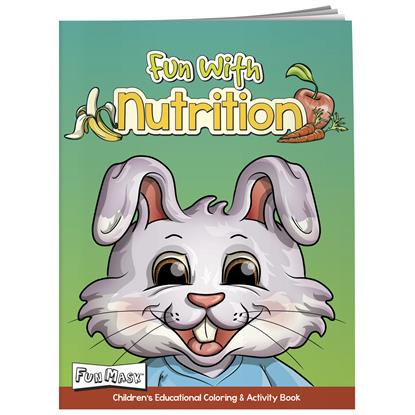 Picture of Coloring Book with Mask: Fun with Nutrition