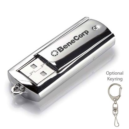 Picture of 1 GB Metal USB 2.0 Flash Drive