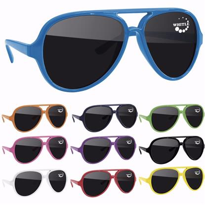 Picture of Plastic Aviator Sunglasses