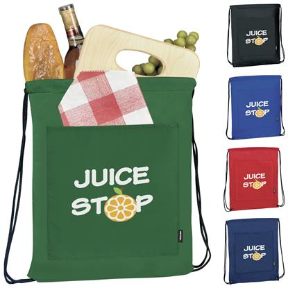 Picture of Koozie® Drawstring Backpack Kooler