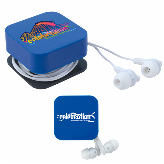Picture of Ear Buds with Cord Keeper and Screen Cleaner