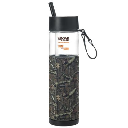 Picture of Mossy Oak® Sport Bottle with Sleeve - 24 oz.