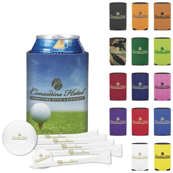 Picture of Collapsible KOOZIE® Dlx Golf Event Kit NDXHeat