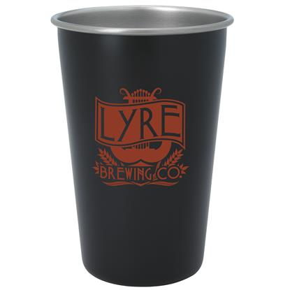 Picture of Stainless Pint Glass - 16 oz. - Color