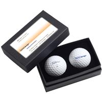 Picture of Titleist® 2-Ball Business Card Box - DT TruSoft™