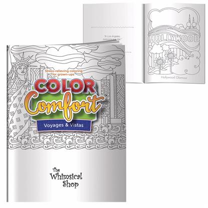 Picture of Adult Coloring Book - Voyages & Vistas