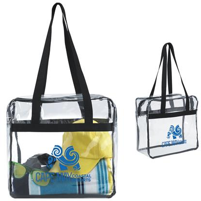 Picture of Clear Zippered Tote
