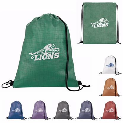Picture of Non-Woven Shimmer Drawstring Backpack