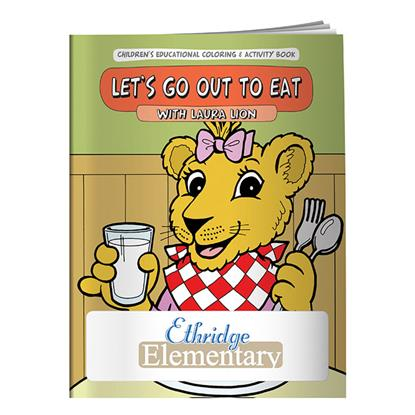 Picture of Coloring Book: Let's Go Out to Eat