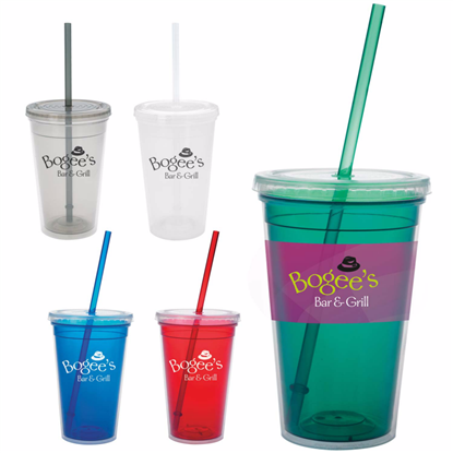 Picture of Double Wall Translucent Tumbler – 18 oz.